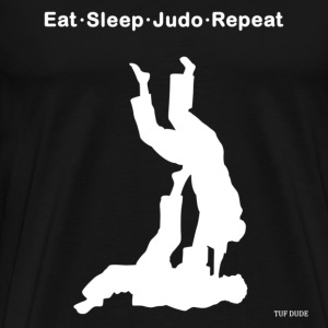 Eat Sleep Judo Repeat T-Shirts - Men's Premium T-Shirt
