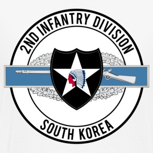 2nd Infantry with CIB - Men's Premium T-Shirt