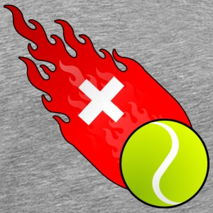 Fireball Tennis Switzerland T-Shirts - Men's Premium T-Shirt