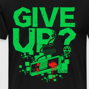 GIVE UP GREEN - Men's Premium T-Shirt