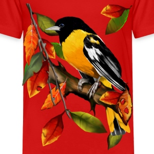 Oriole In Fall - Toddler Premium T-Shirt
