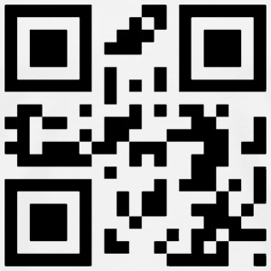 QR Code Obama 2012 - Men's Premium T-Shirt