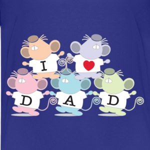 I love Dad Kids' Shirts - Kids' Premium T-Shirt