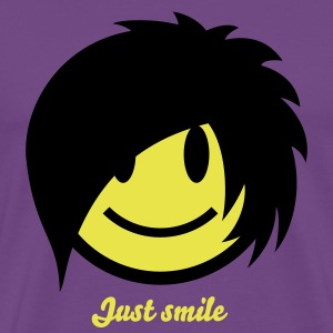 Smiley Emo (Boy) Icon 2c T-Shirts - Men's Premium T-Shirt