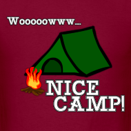 Design ~ Wow, Nice Camp! Men's T