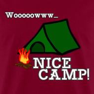 Design ~ Wow, Nice Camp! Men's T