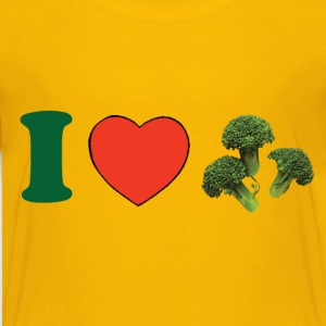 I ♥ Broccoli Kids' Shirts - Kids' Premium T-Shirt