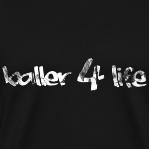 Basketball Baller 4 Life Vintage Look Retro T-Shir - Men's Premium T-Shirt