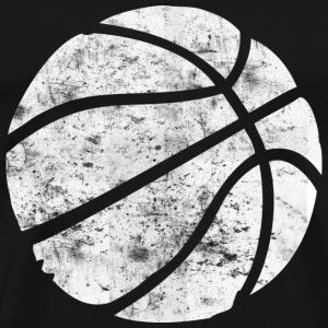 Basketball Vintage Look Retro T-Shirts - Men's Premium T-Shirt
