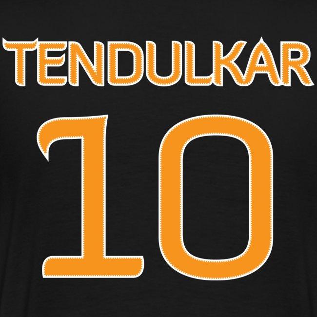 Tendulkar #10 shirt / jersey (in honor of 2011 World Cup Champion Indian Cricket Team)