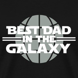 Best dad in the galaxy T-Shirts - Men's Premium T-Shirt