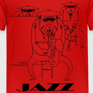 Jazz players Toddler Shirts - Toddler Premium T-Shirt