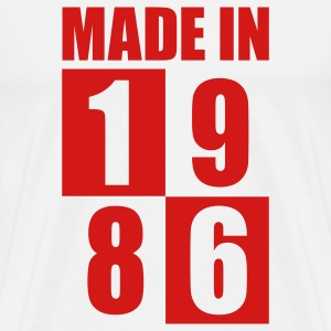 Made In 1986 T-Shirts - Men's Premium T-Shirt