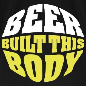Beer built this body (beer belly) T-Shirts - Men's Premium T-Shirt