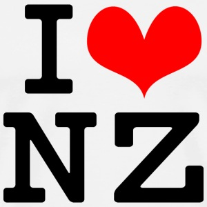 I Love NZ T-Shirts - Men's Premium T-Shirt