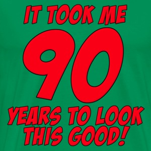 90 Years Birthday To Look This Good T-Shirts - Men's Premium T-Shirt