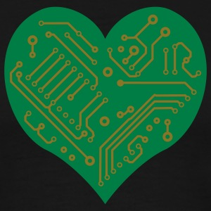 Technology Heart (2 colors) T-Shirts - Men's Premium T-Shirt