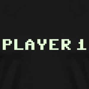 PLAYER 1 T-Shirts - Men's Premium T-Shirt