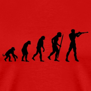 evolution of shooting T-Shirts - Men's Premium T-Shirt