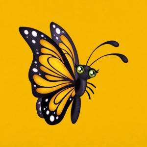 Adult Yellow Butterfly Tee - Men's Premium T-Shirt