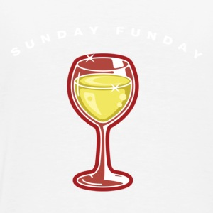 Sunday Funday white - Men's Premium T-Shirt