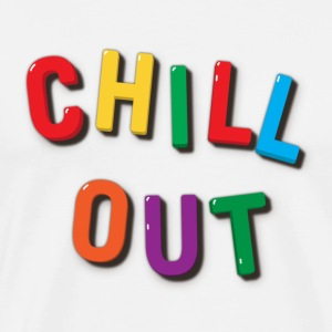 Chill Out Refrigerator Magnets T-shirt - Men's Premium T-Shirt