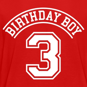Birthday boy 3 years Toddler Shirts - Toddler Premium T-Shirt