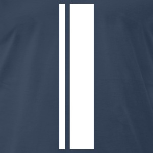 racing stripes T-Shirts - Men's Premium T-Shirt