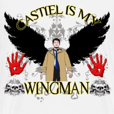 Castiel is my wingman 2 T-Shirts