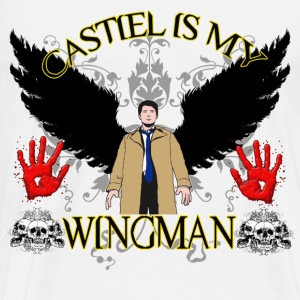 Castiel is my wingman 2 T-Shirts - Men's Premium T-Shirt