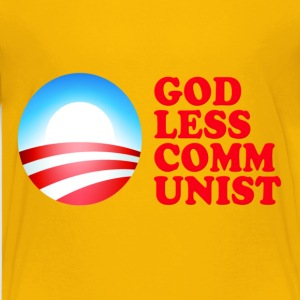 Obama Godless Communist Kids' Shirts - Kids' Premium T-Shirt