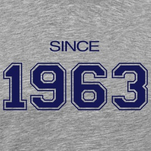 Birthday gift  1963 T-Shirts - Men's Premium T-Shirt