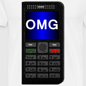 OMG Phone Shirt - Men's Premium T-Shirt