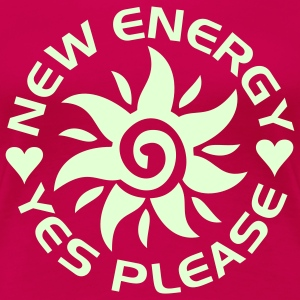 NEW ENERGY sun | women's plus size basic tee - Women's Premium T-Shirt