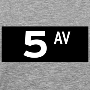 5th Avenue New York T-shirt - Men's Premium T-Shirt