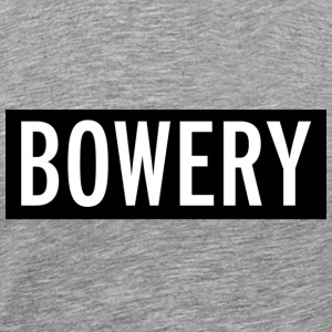 Bowery New York City T-shirt - Men's Premium T-Shirt