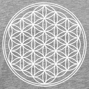 FLOWER OF LIFE - vector | men's 3XL shirt - Men's Premium T-Shirt