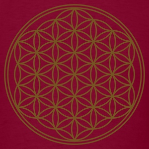 FLOWER OF LIFE - vector | men's heavyweight shirt - Men's T-Shirt