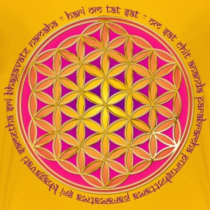 FLOWER OF LIFE - Moola Mantra | children's shirt - Kids' Premium T-Shirt