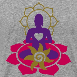 BUDDHA ENERGY - vector | men's 3XL shirt - Men's Premium T-Shirt
