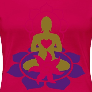BUDDHA ENERGY - vector | women's plus size basic t - Women's Premium T-Shirt
