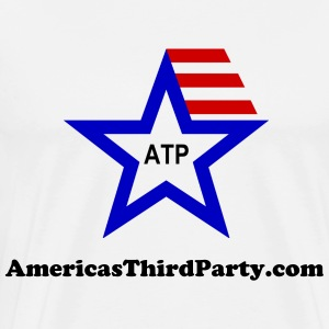 Americas Third Party Logo T-Shirts - Men's Premium T-Shirt