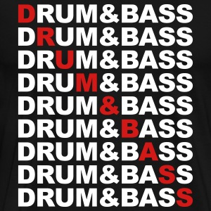 Drum And Bass T-Shirts - Men's Premium T-Shirt