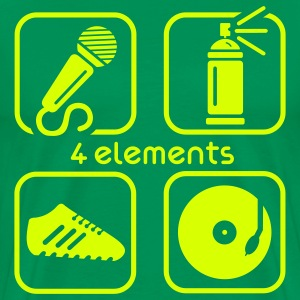 4 ELEMENTS - Men's Premium T-Shirt