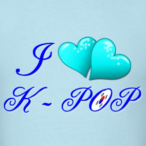 I LOVE K-POP  - Men's T-Shirt