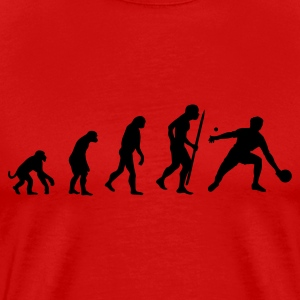 Evolution of Ping Pong/ table tennis T-Shirts - Men's Premium T-Shirt