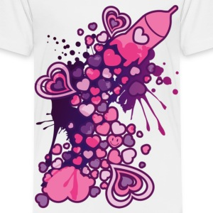 Romance_On_A_Rocket - Toddler Premium T-Shirt