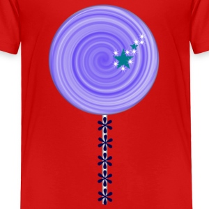 blue lollipop candy Toddler T-Shirt - Toddler Premium T-Shirt