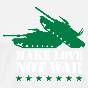 Make love not war 2clr T-Shirts - Men's Premium T-Shirt