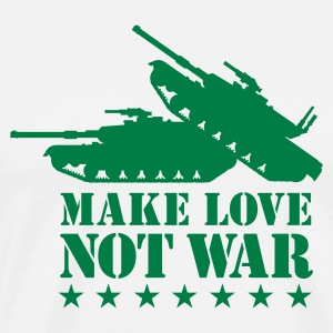 Make love not war 1clr T-Shirts - Men's Premium T-Shirt